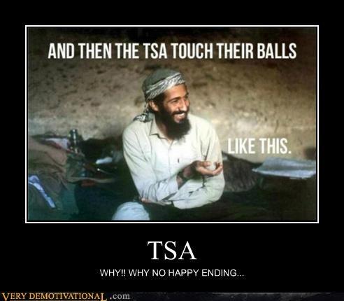 bin Laden,happy ending,hilarious,TSA
