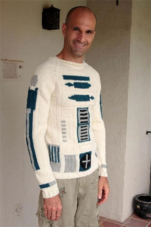 R2-D2 Sweater of the Day