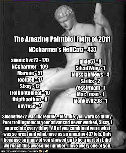 The Amazing Paintblol Fight of 2011