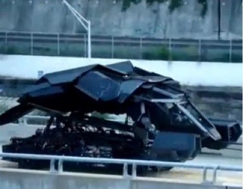 Dark Knight Rises Batwing Photos of the Day