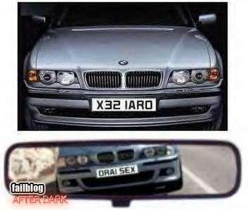 License Plate WIN