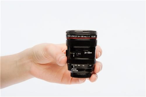 Camera Lens Shot Glass