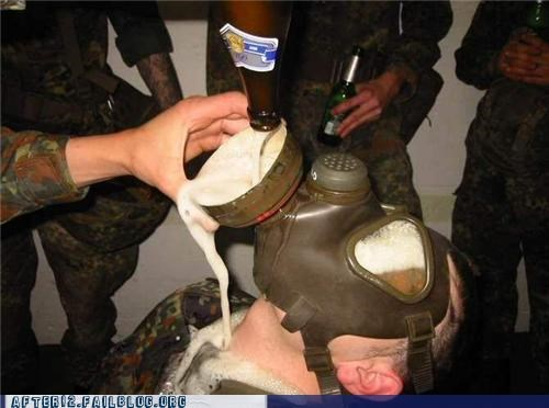 Partying Army-Style
