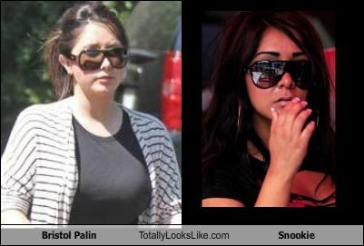 Bristol Palin Totally Looks Like Snookie