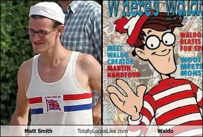 Matt Smith Totally Looks Like Waldo