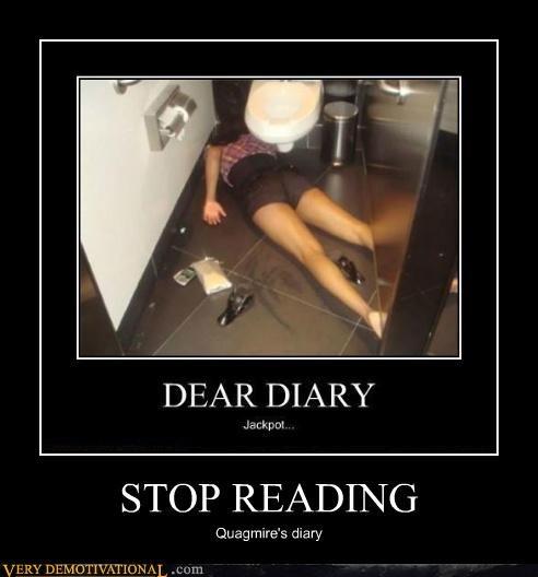 STOP READING