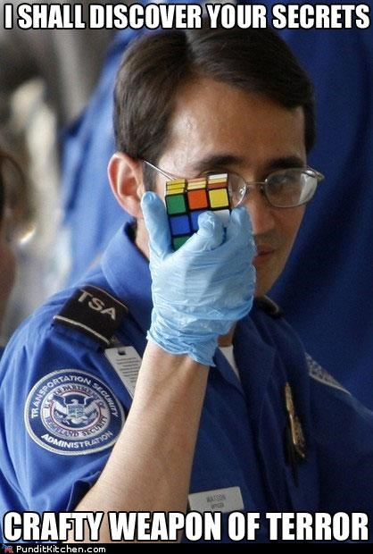 political pictures,rubiks cube,TSA