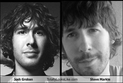 Josh Groban Totally Looks Like Steve Markle