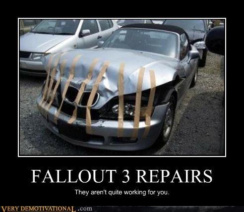 FALLOUT 3 REPAIRS