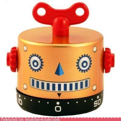 bell,egg timer,kitchen,robot,timer