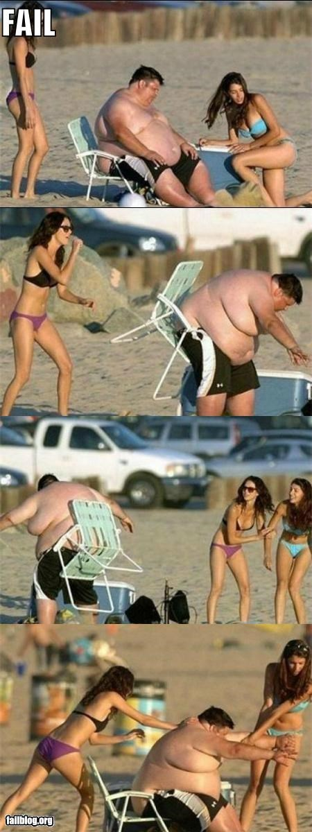 CLASSIC: Day At The Beach FAIL