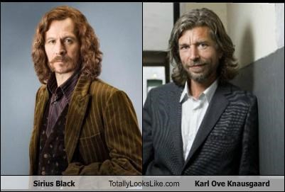 Sirius Black Totally Looks Like Karl Ove Knausgaard