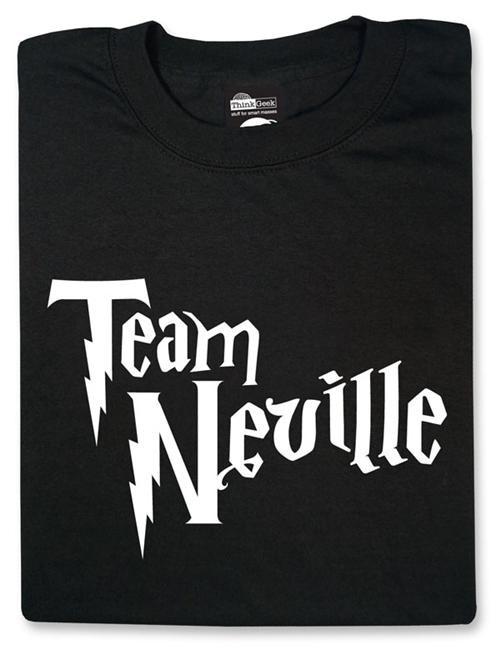 books,Harry Potter,merch,movies,neville longbottom,team neville,ThinkGeek,t shirts