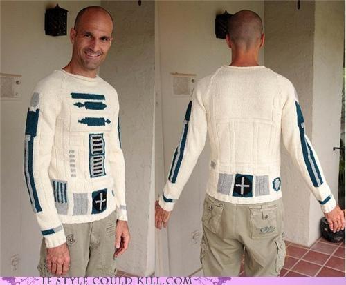 cool accessories,r2d2,star wars,sweaters