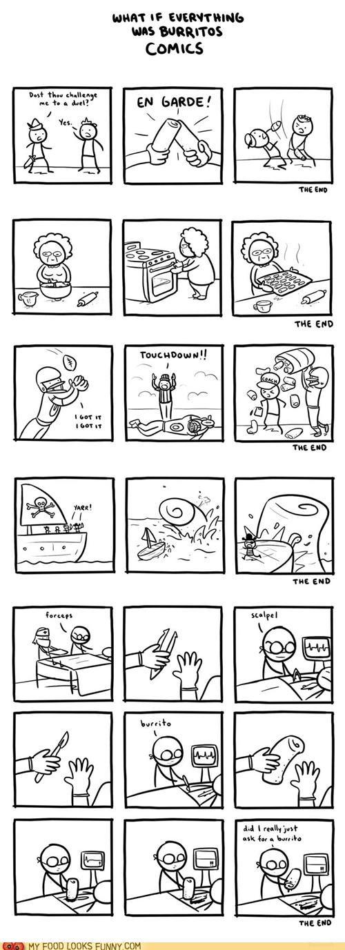 burritos,comic,everything is a burrito