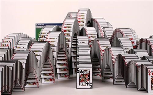 Solitaire Sculpture of the Day