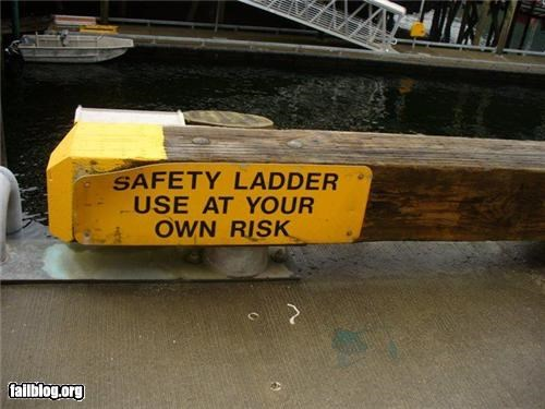 Oddly Specific: Safety, You Say?