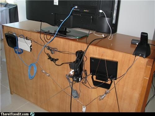 If Done Right, Cable Management Should Defy Gravity