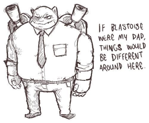 Don't Mess With Blastoise Dad