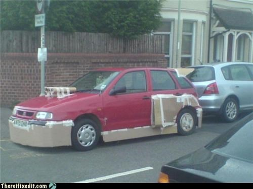 body mods,cardboard,cars,Hall of Fame,overkill