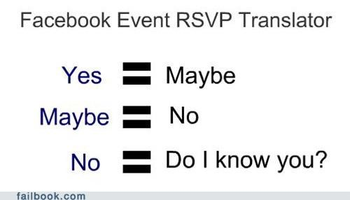 What Your RSVP Really Means