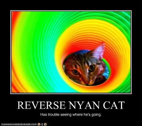 REVERSE NYAN CAT