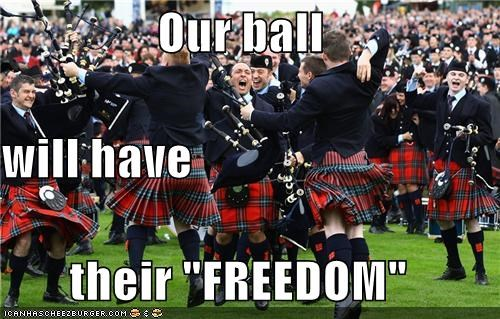 "Our ball  will have their ""FREEDOM"""