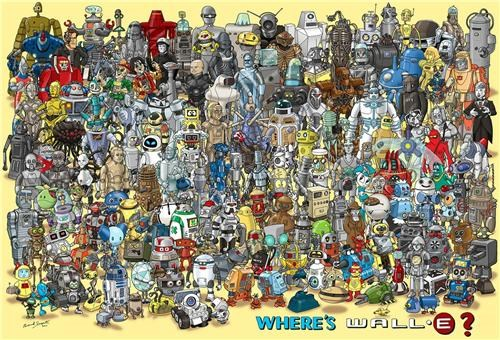 Where's Wall-E of the Day