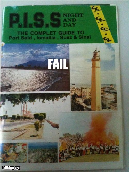 Tourism Guide FAIL