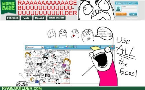 all the guy,all the things,Rage Comics,rage faces