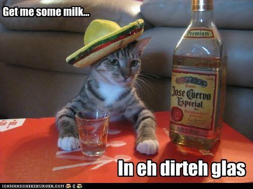 Get me some milk...