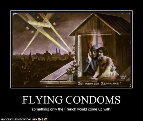 FLYING CONDOMS