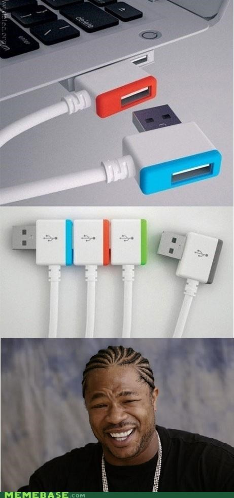 Yo Dawg, I Heard USB