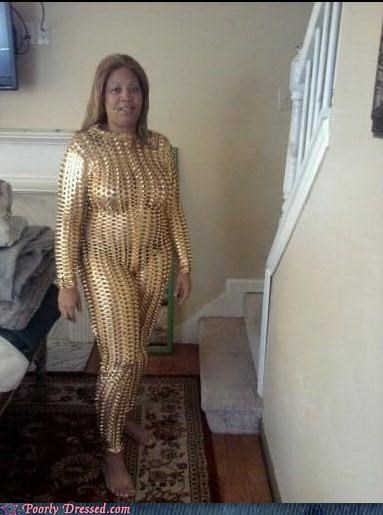 Studded Gold Armor Gives You +3 Charisma