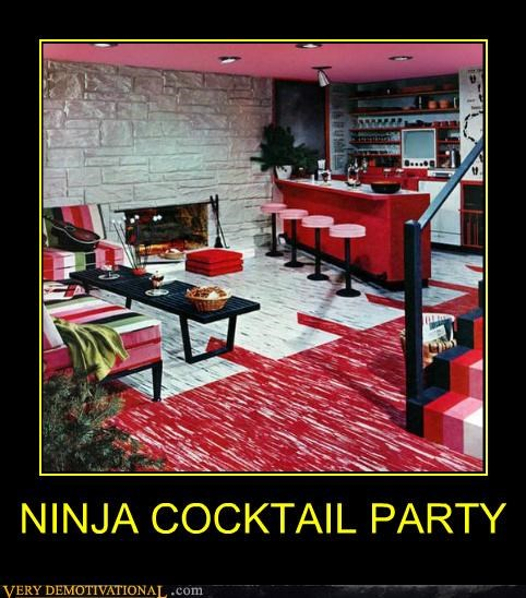 NINJA COCKTAIL PARTY