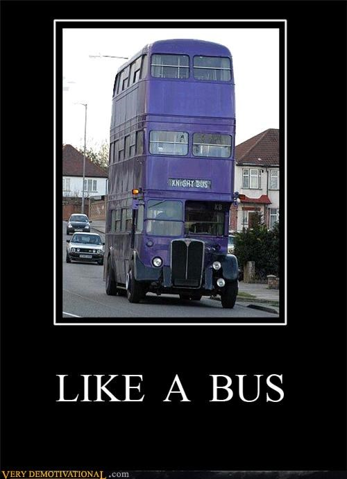 bus,knight,Pure Awesome,triple decker