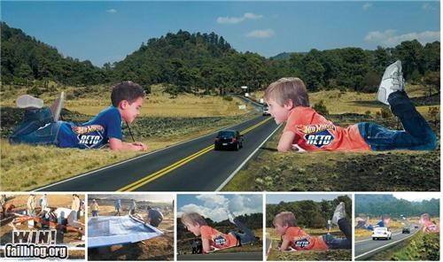 Hot Wheels Ad WIN