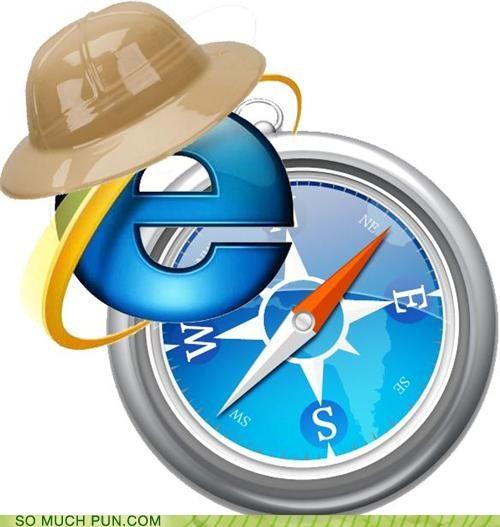 IE is on Safari