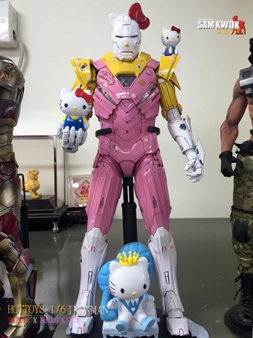 Custom Iron Man Suits Meets Pop Culture