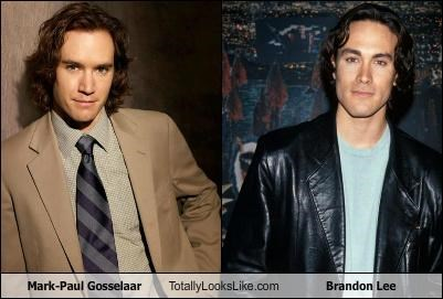 Mark-Paul Gosselaar Totally Looks Like Brandon Lee