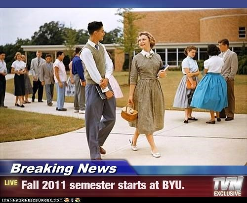 Mormons Head Back To School