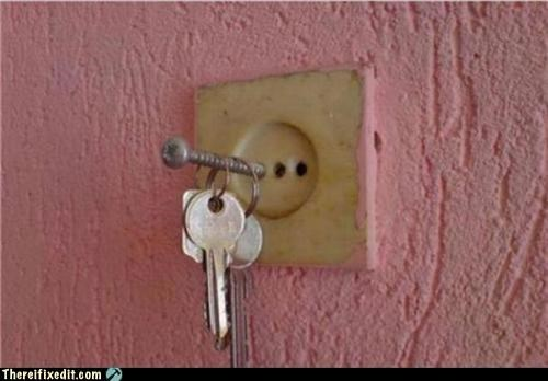 A Shockingly Good Key Holder