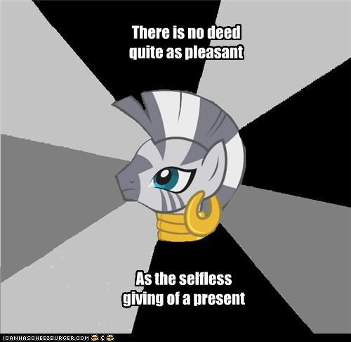 Poetry by Zecora: Presents