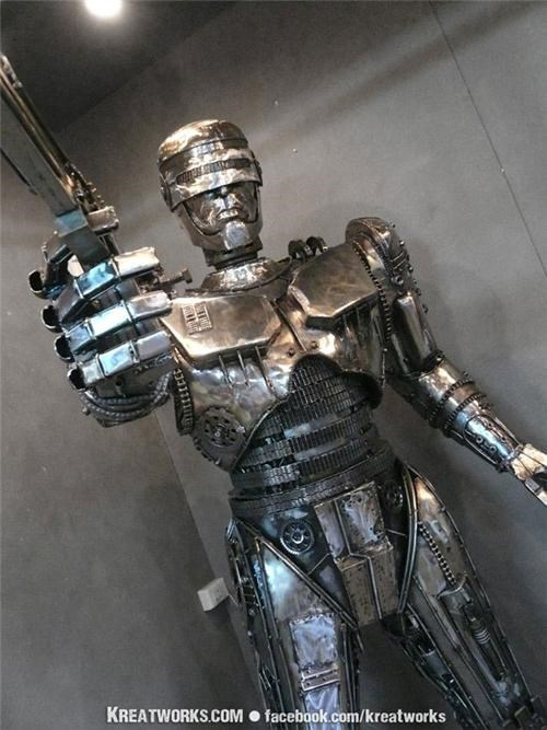 Steampunk Robocop of the Day