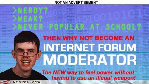 job ad,moderator,nerdy