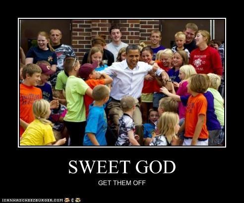 barack obama,children,political pictures