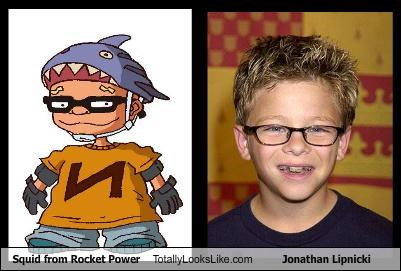 "Squid from ""Rocket Power"" Totally Looks Like Jonathan Lipnicki"