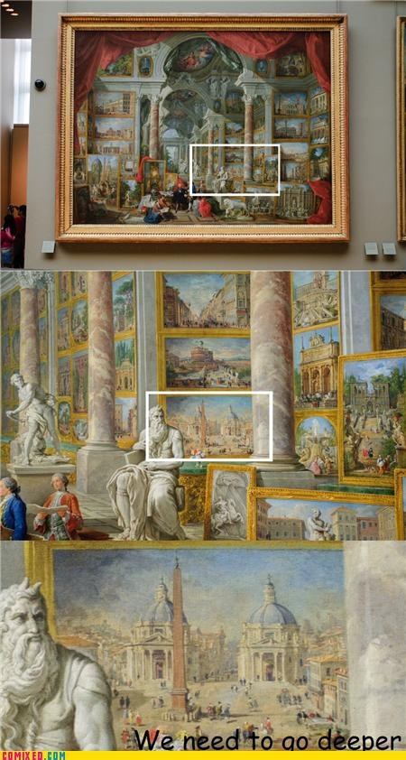 A Painting Within a Painting