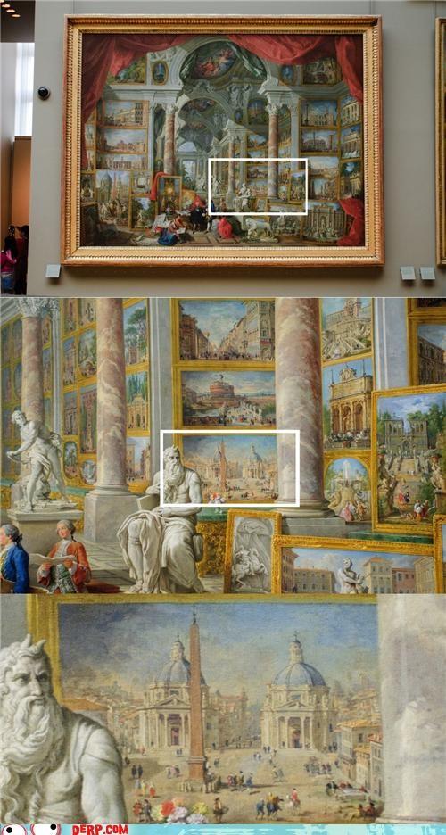 derp,painting,statue,vintage,zoom