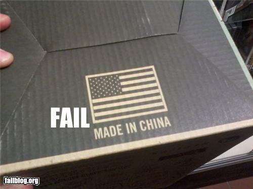 Country of Origin FAIL